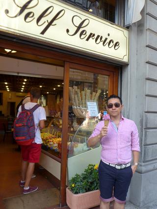 フィレンツェのジェラート @イタリア・フィレンツェ