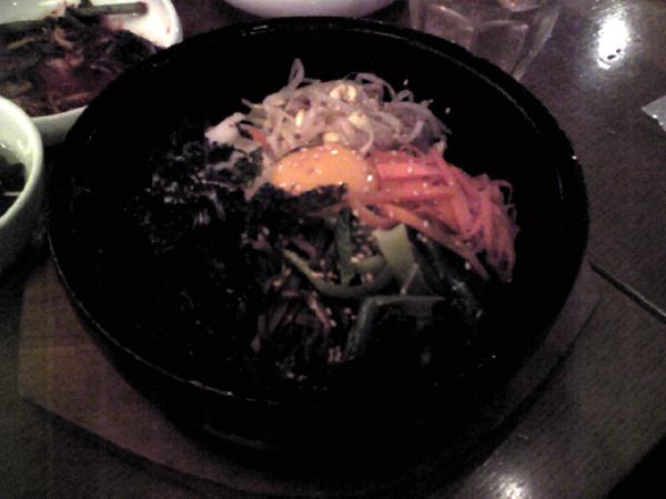 韓国料理「ワンス」で石焼ビビンバを食す!