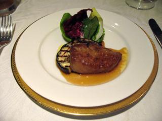 静岡県・日本平ホテル「グルメン」での夕食