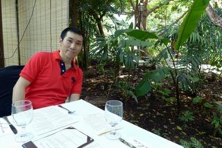 ボタニックガーデン内のレストラン「ハリア(Halia)」 @シンガポール
