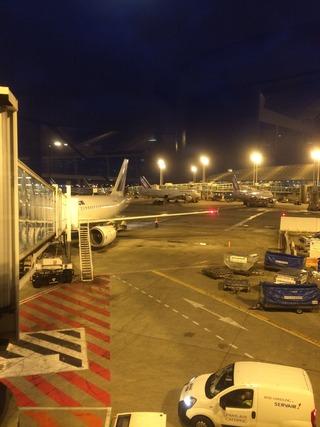 アテネからパリへ移動〜AF1533〜