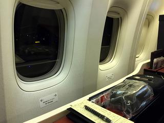 海外赴任後8度目の帰国 --日本航空「JL726」便--SKY SUITE 777(スカイスイート777)」