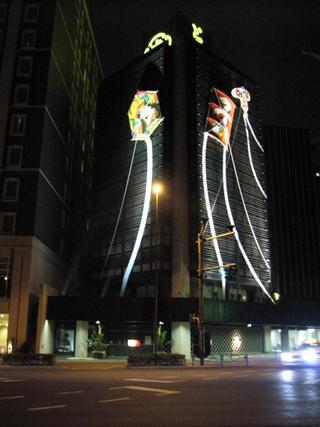 赤坂・とらや本店のお正月飾り