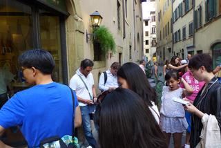 フィレンツェ名物のビステッカ・アッラ・フィオレンティーナを食す「イル・ラティーニ (il Latini)」 @イタリア・フィレンツェ
