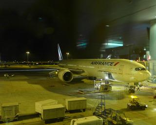 4回目のフランス--エールフランス「AF259」便