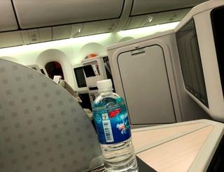 帰国報告 - ジャカルタ赴任後75度目の日本 --日本航空「JL726」便