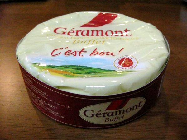 フランスのナチュラルチーズ「ジェラモン・ブフェ」