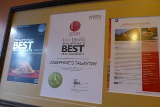 本場のハロハロが楽しめるJosephine's Tagaytay @フィリピン・タゲイテイ