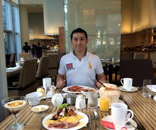ラッフルズ マカティ(Makati, Philippines)朝食編 @フィリピン・マニラ