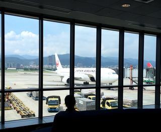 27回目の台湾--日本航空「JL098」便