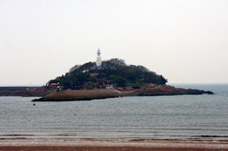 青島ビールのロゴにもなっている「桟橋」