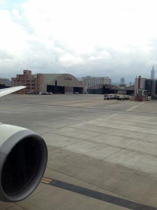 22回目の台湾--日本航空「JL098」便