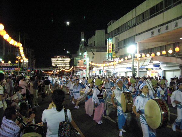 本場徳島の「阿波おどり」を観る!