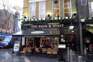 イギリスロンドン名物NICHOLSON'S The Bear & STAFFのフィッシュアンドチップス @ロンドン