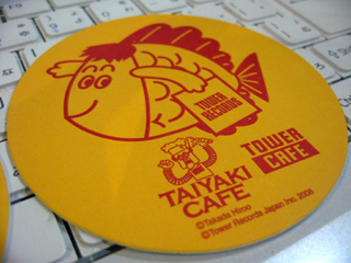 期間限定「TAIYAKI CAFE」