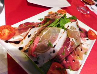イタリアンレストラン「Caffe il gusto ristorante」 @トルコ・イスタンブール