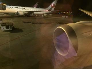 ジャカルタ赴任後15度目の帰国 -- 日本航空「JL726」・「JL729」便
