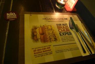 シュラスコ「Carnivore」 @チャイムズ・シンガポール