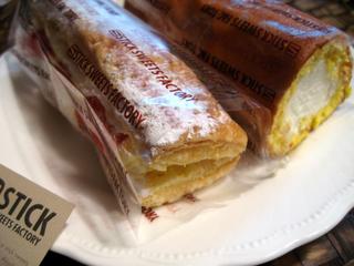 「STICK SWEETS FACTORY」の純生ロールケーキ