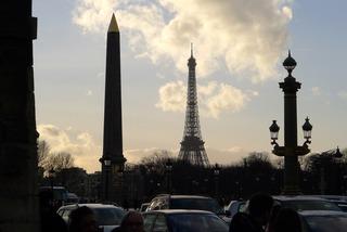 コンコルド駅からギャラリー・ラファイエットまで @パリ