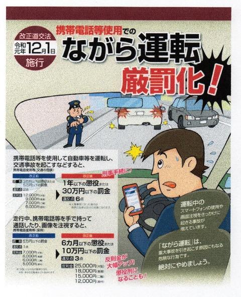 img894 ながら運転厳罰化
