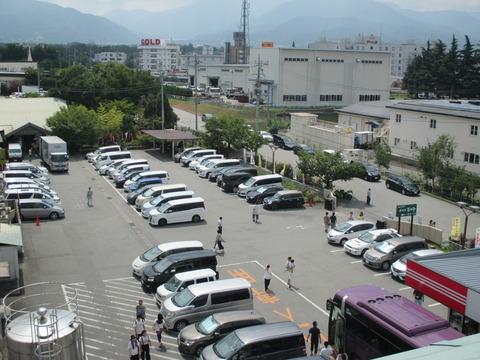 8.12駐車場