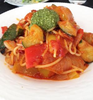 トマトスパゲッティーカプレーズ