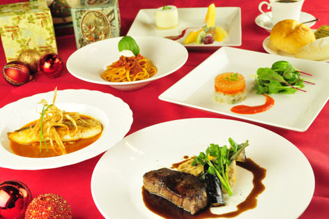 イタリアントマトクラブのクリスマスディナー