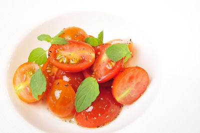 トマトがデザートに!?