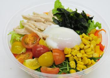 新鮮野菜のサラダうどん