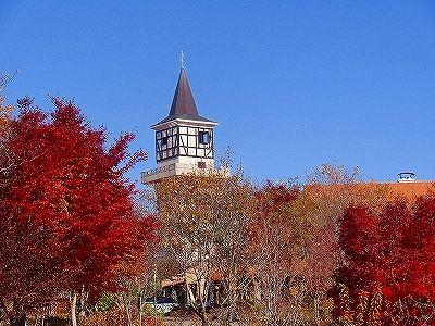 ハイジの村の紅葉