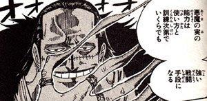 【ワンピース】クロコダイル「悪魔の実の能力は使い方と訓練次第でいくらでも強い戦闘手段になる」