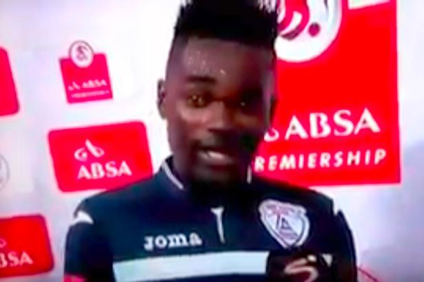 ◆アフリカ◆南アのサッカー選手ヒーローインタビューで自爆『妻と愛人に感謝しま(ry(大慌て)』