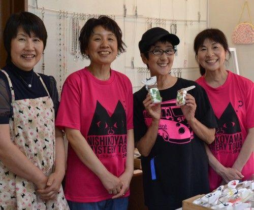 十勝花子さんが西小山ミステリーツアーの取材でご来店