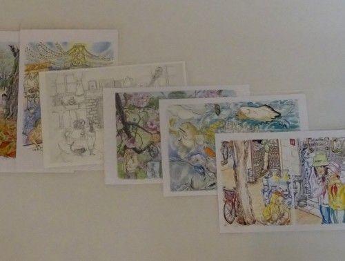 オリジナルポストカード「第3回手作りクラフト展」出品作品