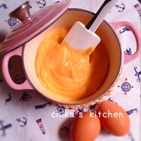 豆乳とお鍋で丁寧に作る♪優しく濃厚なカスタードクリーム♡
