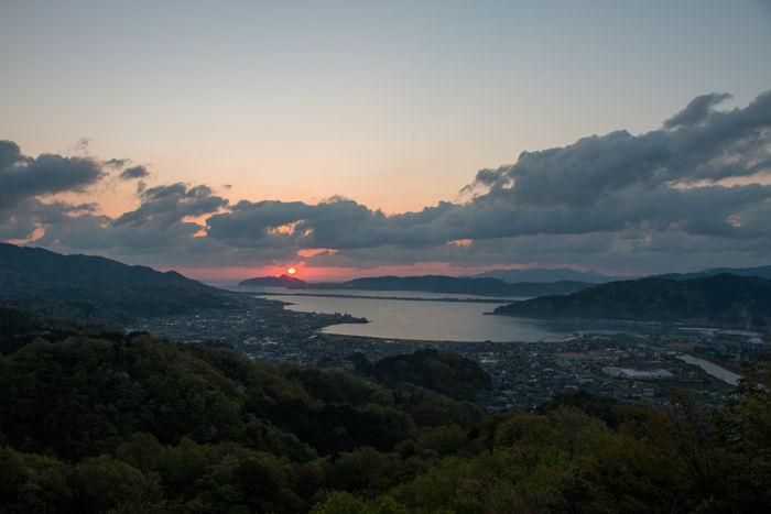 京都・与謝郡与謝野町・大内峠一字観公園(朝景・日の出)20170423-5