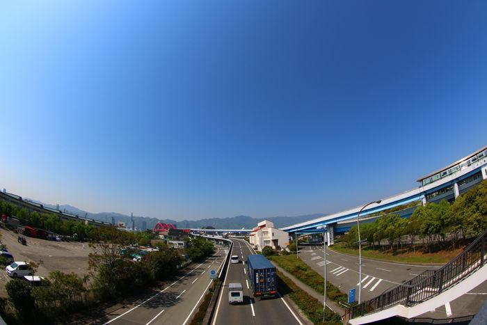兵庫・中央区・【魚眼風景】港島2丁目地区20150427-1