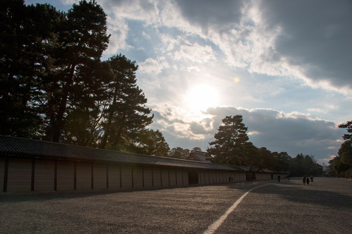 京都・上京区・京都御苑20170225-1