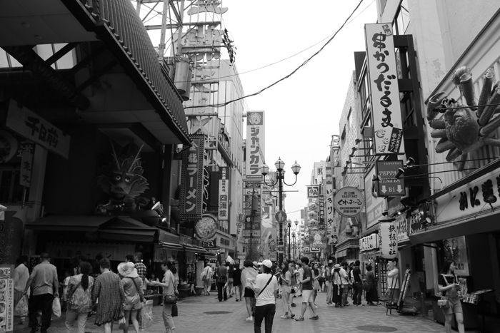 大阪・中央区・【モノクロさんぽ】戎橋界隈20150623-7