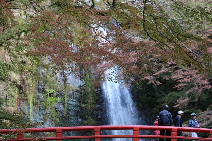 大阪・箕面市・箕面の滝20131120-2-4