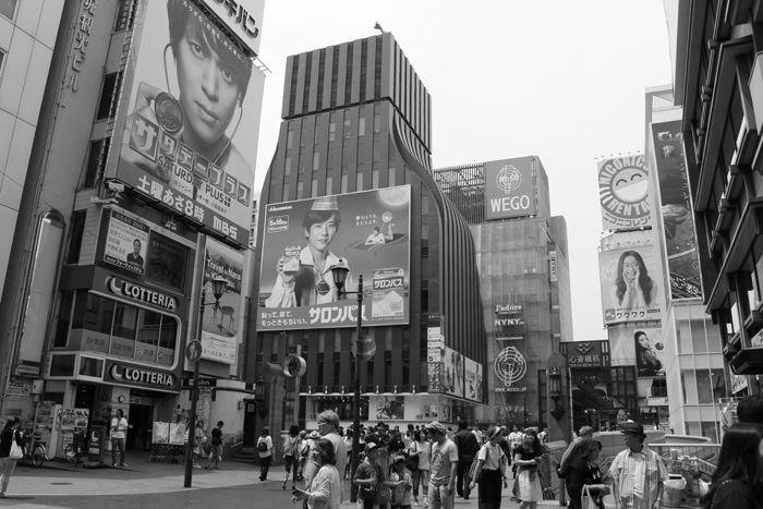 大阪・中央区・【モノクロさんぽ】戎橋界隈20160620-1
