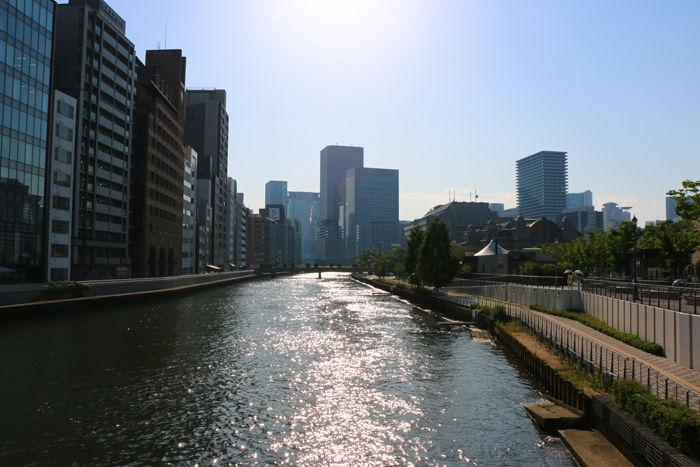 大阪・北区~中央区・難波橋(ライオン橋)20150526-1