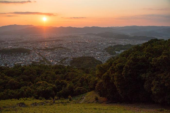 京都・左京区・大文字山20170615-8