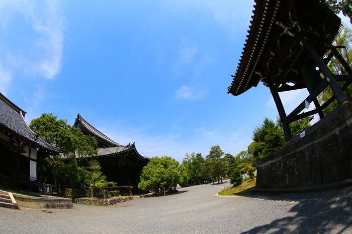 京都・右京区・【魚眼風景】清凉寺20150527-1
