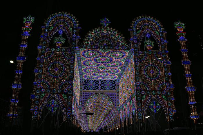 兵庫・中央区・神戸ルミナリエ20151208-4