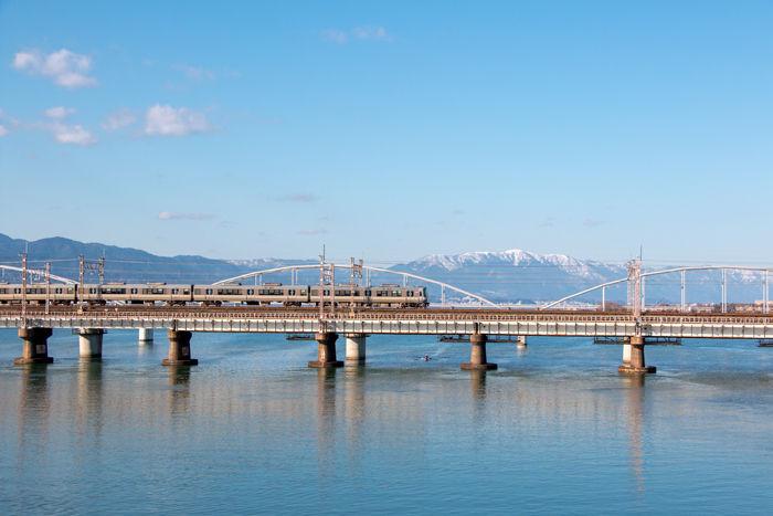 滋賀・大津市・瀬田川大橋20170204-1