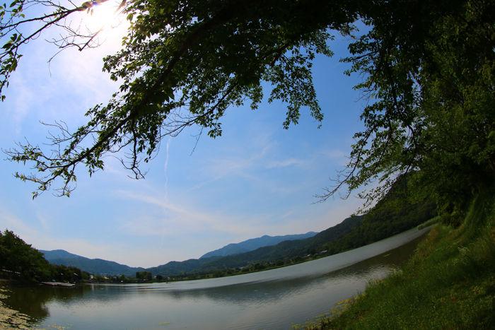 京都・右京区・【魚眼風景】広沢池界隈20150527-9