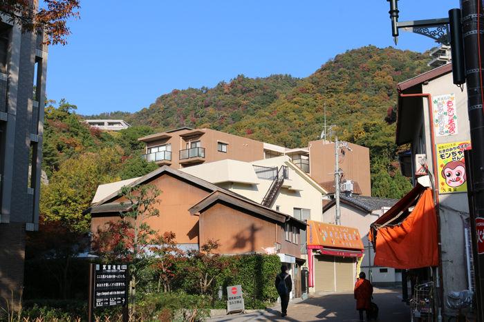大阪・箕面市・箕面の滝20131120-1-2