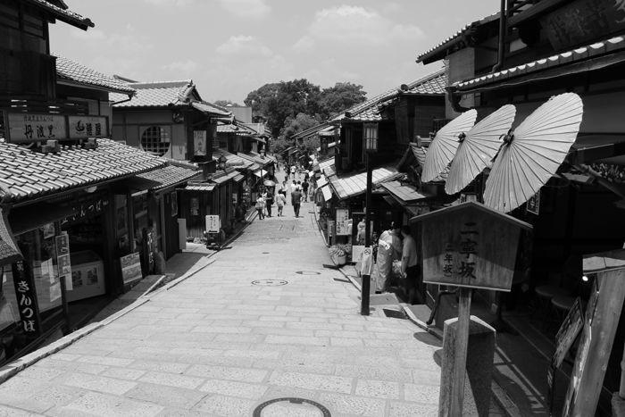 京都・東山区・【モノクロさんぽ】八坂神社~産寧坂界隈20150624-12